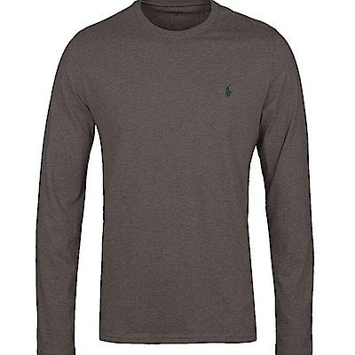 Ralph Lauren 長袖 T恤 素面 灰色 322