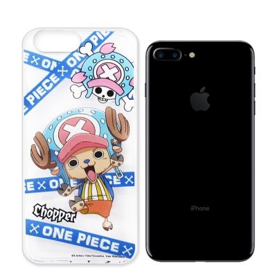 航海王 iPhone 8 Plus/ 7 Plus 透明軟式手機殼(封鎖喬巴)