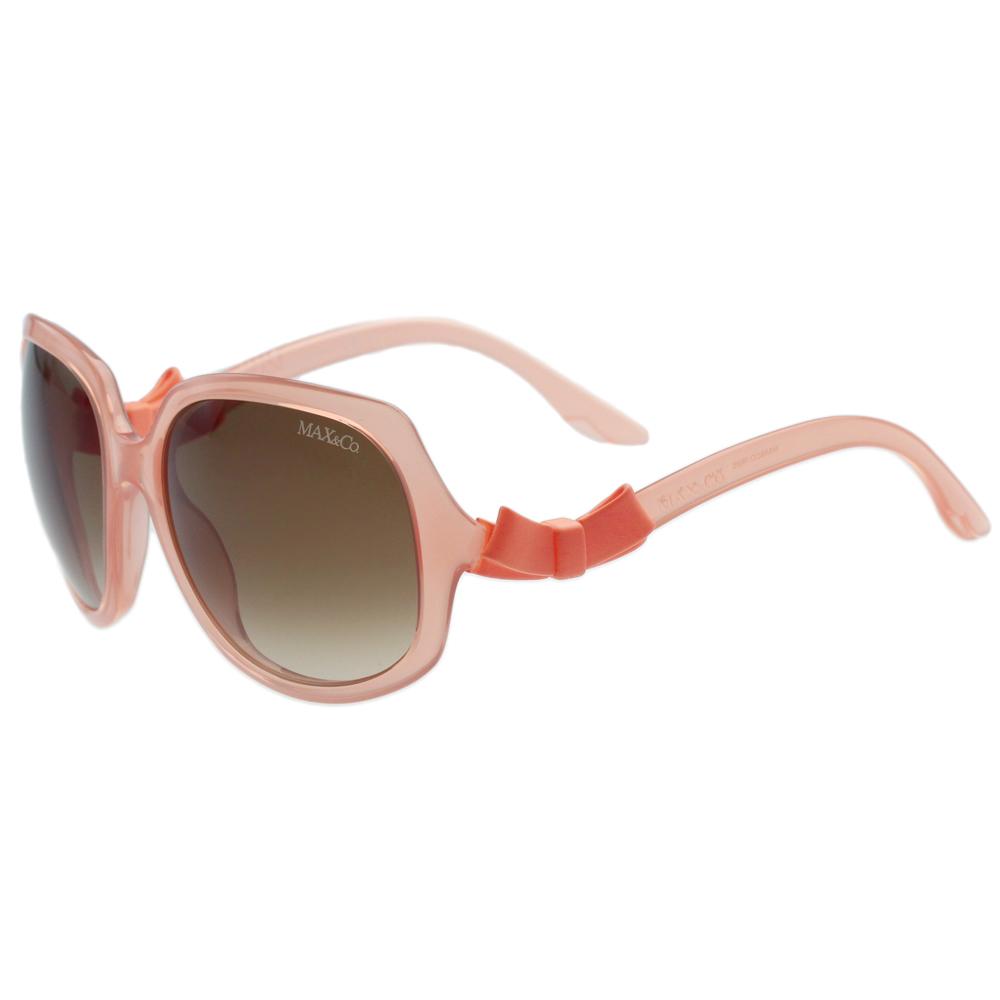 MAX&CO. 時尚太陽眼鏡 (粉橘色)