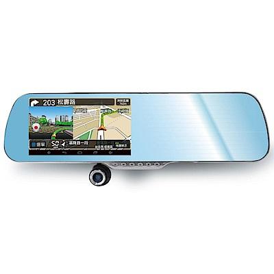 FLYone RM1000 Android觸控智慧導航+測速照相 行車記錄器/送後鏡頭-自