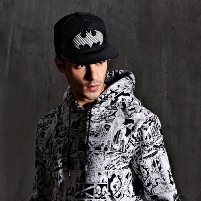 蝙蝠網布電繡帽-CACO