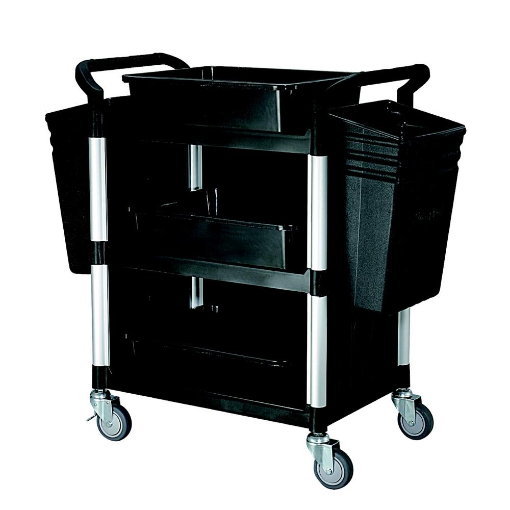 【COLOR】精緻標準型3層三面圍邊工具/餐推車(全配件)