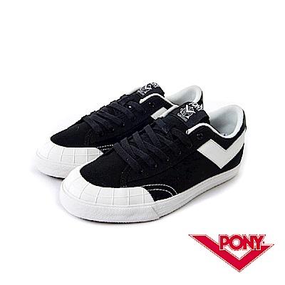 【PONY】Slam Dunk  系列-經典復古鞋-女性-黑