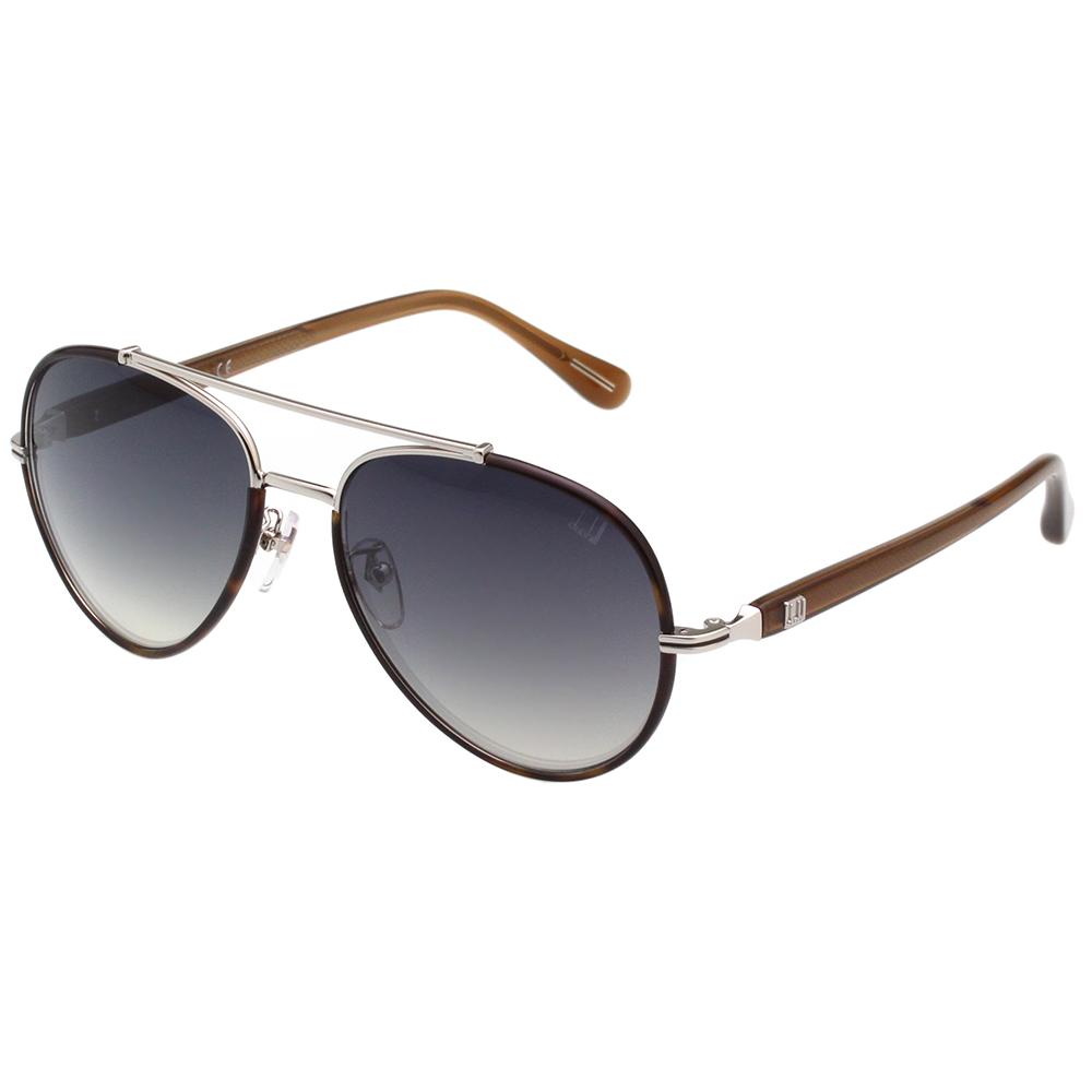 Dunhill 太陽眼鏡 (琥珀+銀色)SDH047
