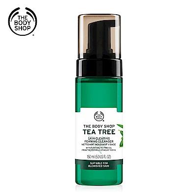 The Body Shop 茶樹淨膚潔面慕絲-150ML