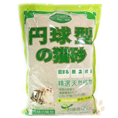 日本丹球型貓砂(細)5L 3入