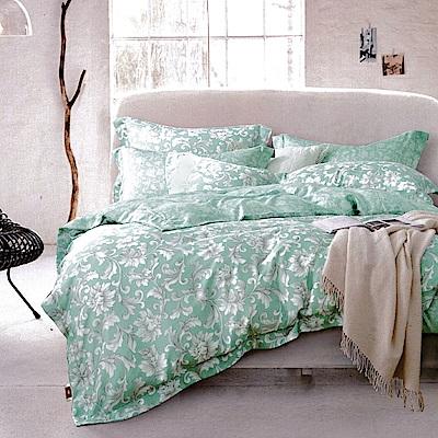 Lily Royal 60支頂級天絲 四件式兩用被床包組 加大 詩痕