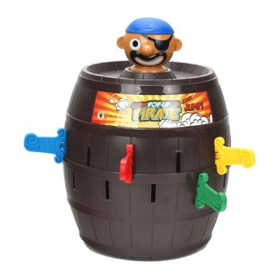 桌遊團康玩具-益智遊戲-危機一發-極度彈力海盜桶