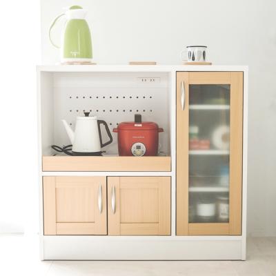 Home Feeling 日系廚房收納櫃/廚房櫃/電器架-DIY
