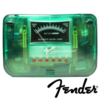 FENDER AG6 數位式調音器 (綠色)
