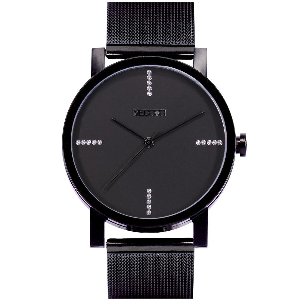 MEDOTA 極簡輕薄手錶- 奢華系列 – 男錶 黑色/40mm