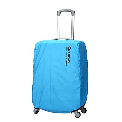 CARANY卡拉羊 旅行箱箱套 防雨罩 保護罩 炫彩防塵套(水藍/24吋)58-0033B
