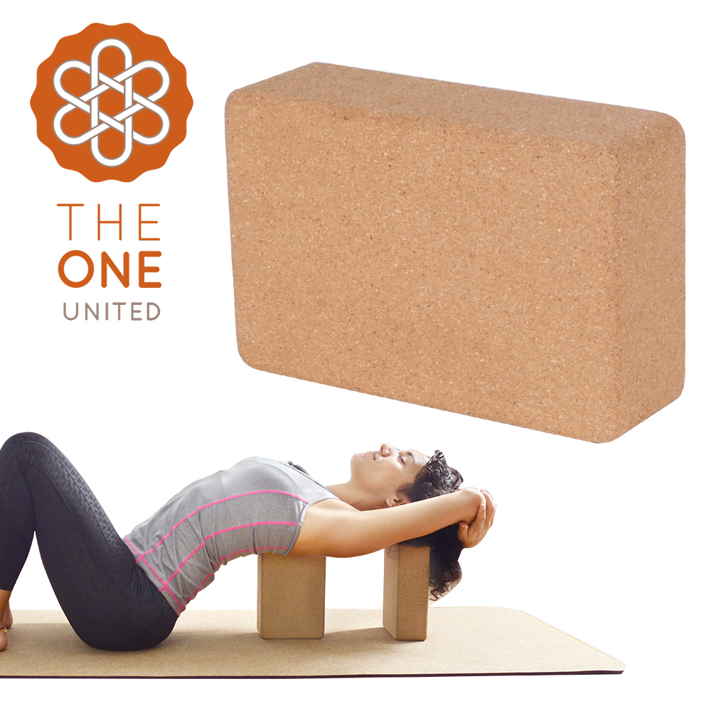 【The One】環保天然軟木瑜珈磚
