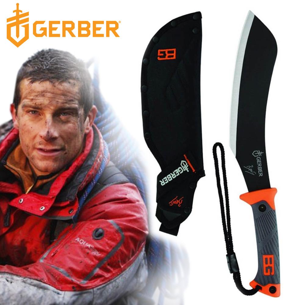 Gerber 貝爾求生系列橡膠柄砍刀