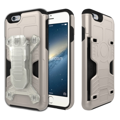 Phonefoam iPhone6/6s 4.7吋腰夾式插卡吸震保護殼