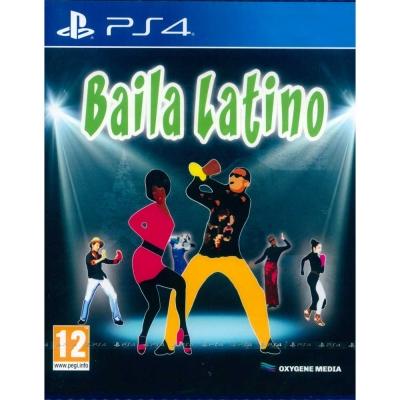 有氧拉丁舞 Baila Latino -PS4 英文歐版