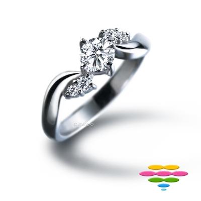 彩糖鑽工坊 19分 鑽石戒指 sweet鑽戒 窩心系列