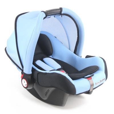 Babybabe 多功能提籃汽座(附蚊帳)-粉藍