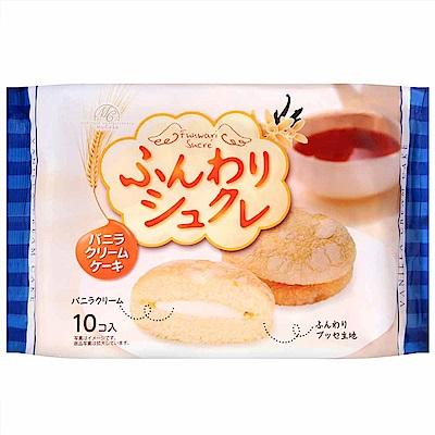 柿原 鬆軟香草奶油風味夾心蛋糕 (165g)