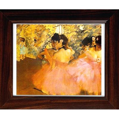 開運陶源【粉紅芭蕾舞者】Degas名畫小幅
