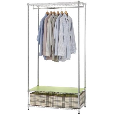 《百變金鋼》90*45*180收納衣櫥架
