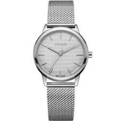 JULIUS聚利時 無限星空米蘭錶帶腕錶-銀色/32mm