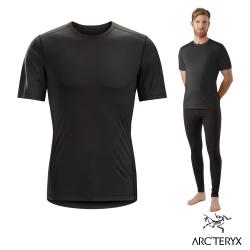Arcteryx 始祖鳥 男 Phase SL 短袖輕量排汗衣 黑