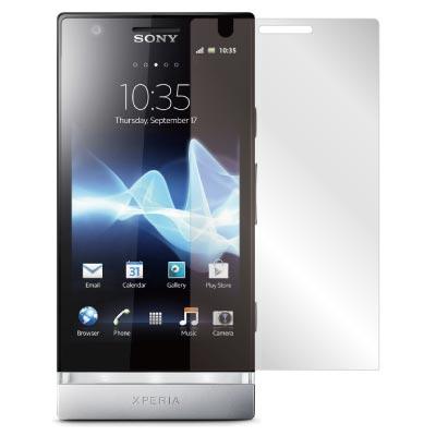 ZIYA Sony Xperia P LT22i抗刮亮面螢幕保護貼 - 2入