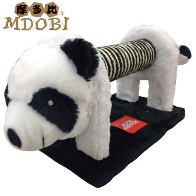 MDOBI摩多比-貓丸家 麻繩貓抓柱 黑白熊麻抓柱