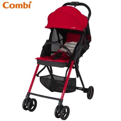 【麗嬰房】Combi F2 Plus AF超輕靚單向手推車-搖滾紅