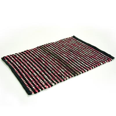 布安於室-印度編織踏墊2入-混色出貨