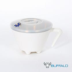 牛頭牌 不銹鋼雙層防燙杯碗(白)