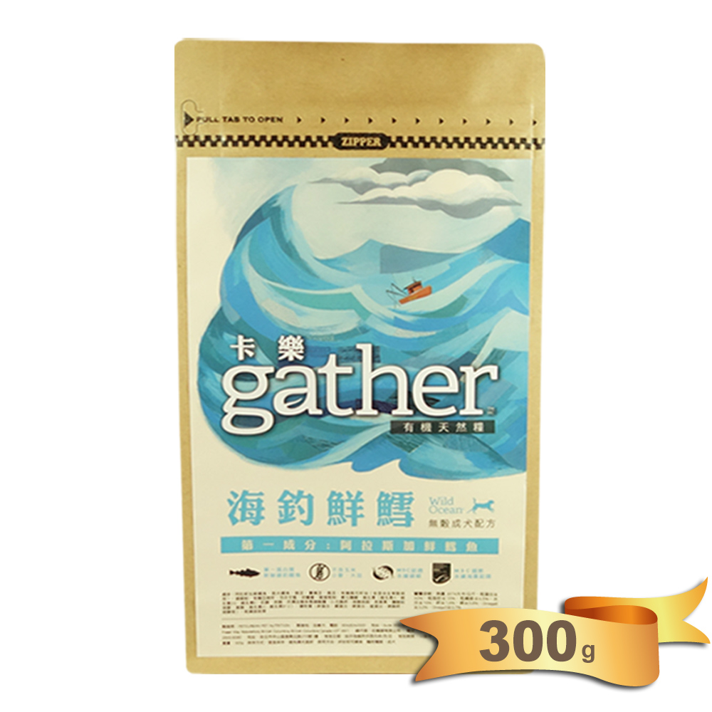 卡樂天然糧海釣鮮鱈成犬配方300克
