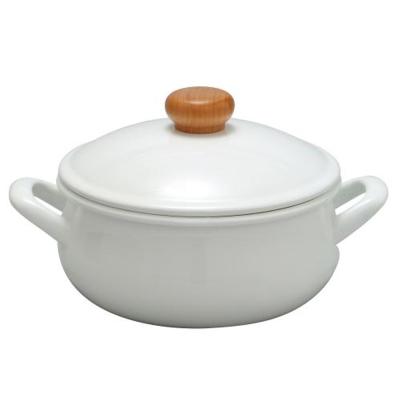野田琺瑯-POCHIKA花蕾系列風味燉煮鍋20CM