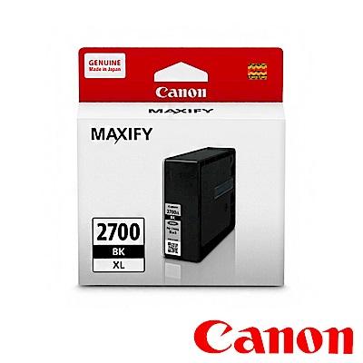 Canon PGI-2700XL BK 原廠黑色高容量墨水匣