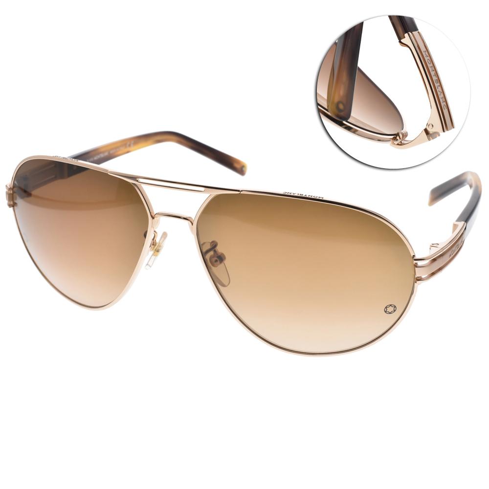 MONTBLANC萬寶龍太陽眼鏡 經典飛官款/金#MB401S C28F @ Y!購物