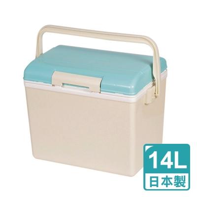 日本鹿牌Pearl CielCiel 日式保冷冰桶14L-天空藍