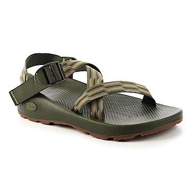 美國Chaco。男 越野運動涼鞋 標準款CH-ZCM01HE12 (手風琴綠)