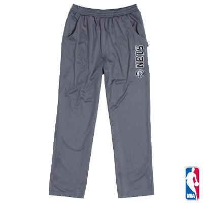 NBA-布魯克林籃網隊休閒長褲-灰(男)