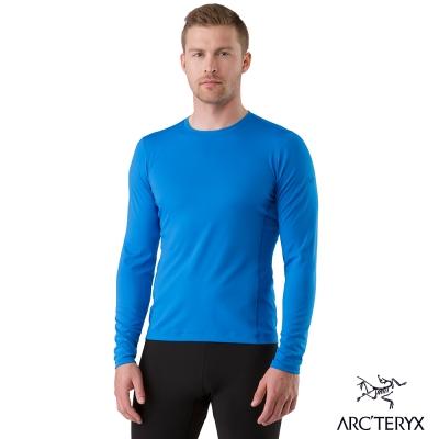 Arcteryx 始祖鳥 男 Phase AR 保暖內層圓領衫 藍