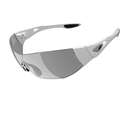 【ADHOC】運動太陽眼鏡-極速變色灰片-無框式DARKness