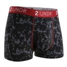 2UNDR Swing Shift四角男內褲(3吋)-數位黑