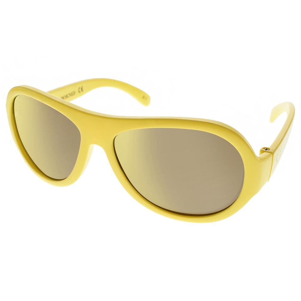SHADEZ兒童太陽眼鏡無毒可彎曲黃-黃水銀SH15SHZ3 C35