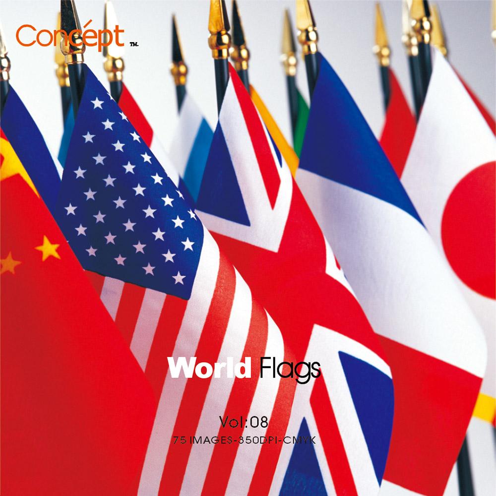 Concept創意圖庫 08-世界國旗