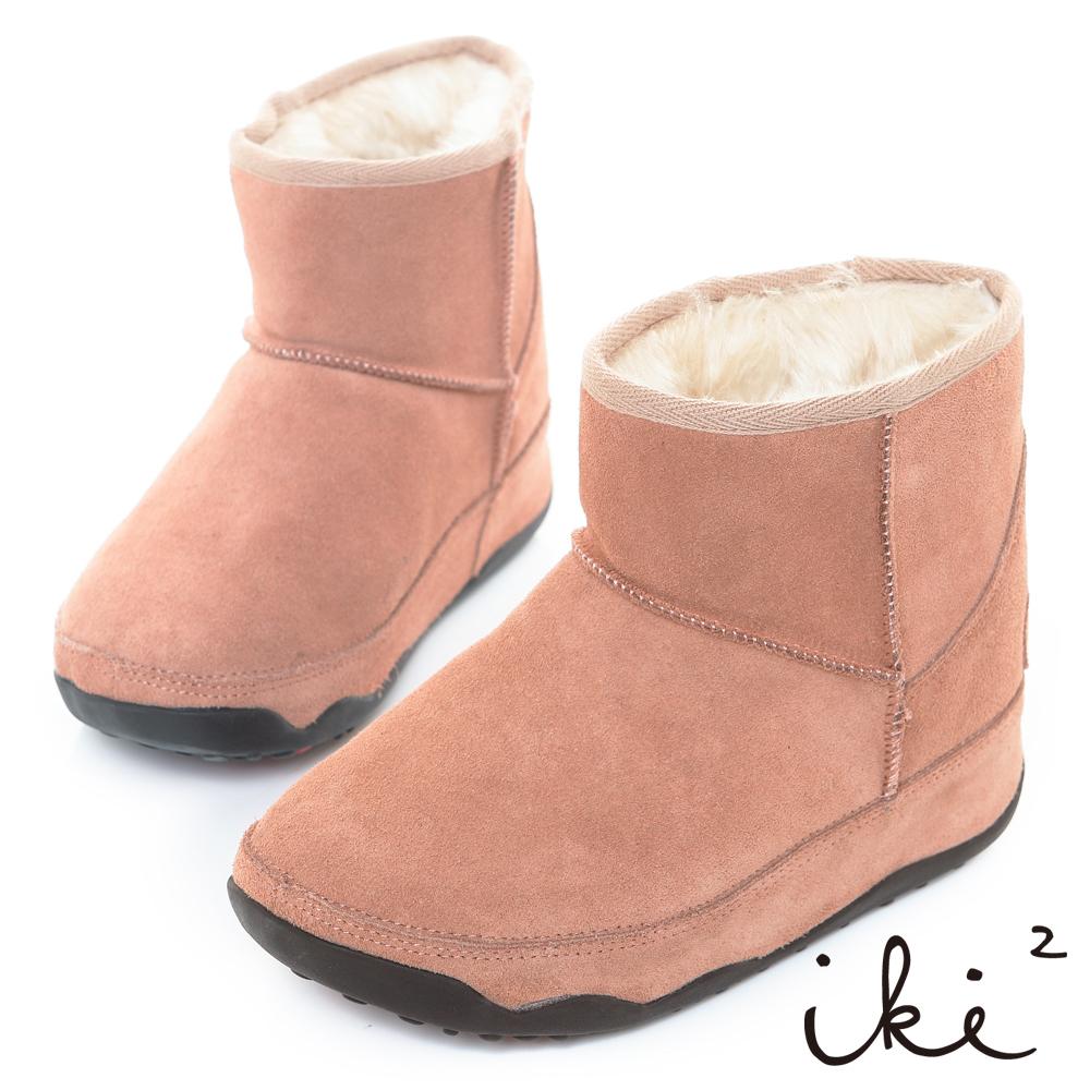 iki2網友最推薦-魅力機能性美腿短筒雪靴-甜蜜粉