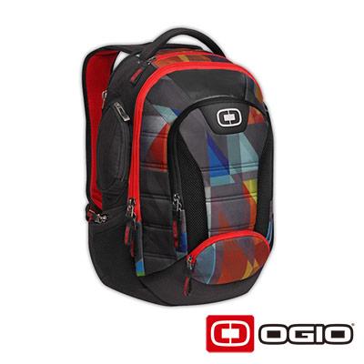 OGIO BANDIT II 17 吋甲蟲電腦後背包-普普色塊