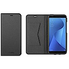 ASUS ZenFone Max Plus 原廠 側掀式皮套(黑)
