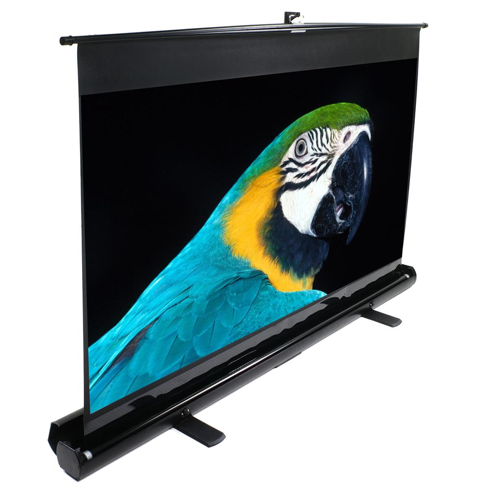 Elite Screens 億立銀幕 100吋4:3 可攜式單桿地拉幕