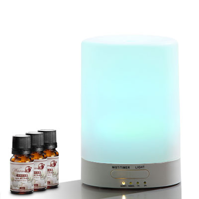 Warm燈控-定時超音波負離子水氧機-W-116S-七彩燈-二代機