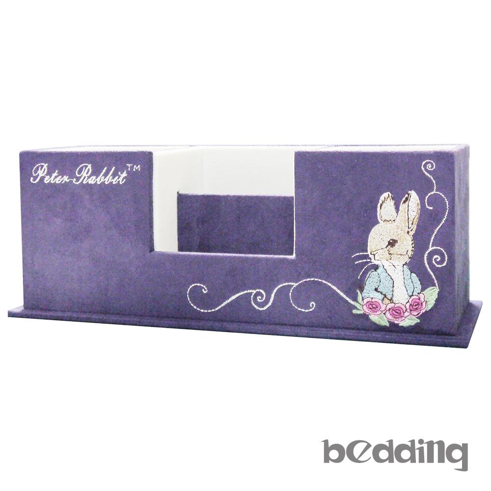 比得兔Peter Rabbit彼得兔仿麂皮置物盒-紫